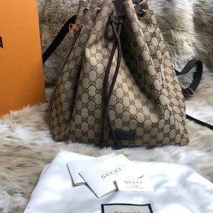Gucci Book Bag - Drawstring